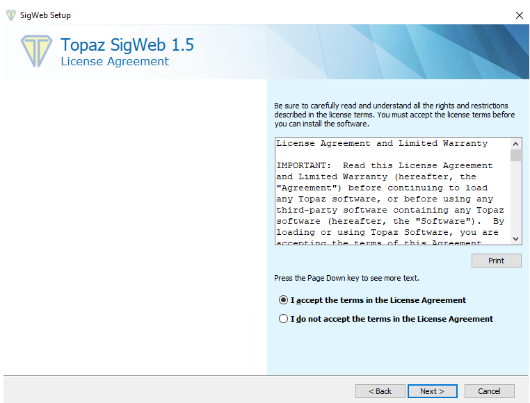 How to Install Topaz Signature Pad – Condo Control Central Support